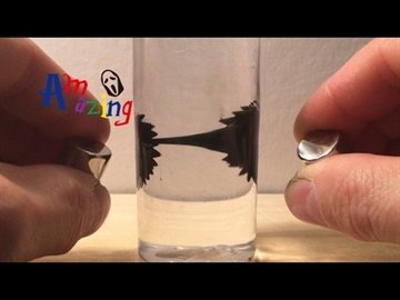 Ferrofluid in der Flasche - DIY - YouTube