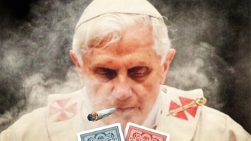 even pope like the dope