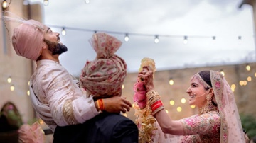 Virat Kohli Ties Knot with Anushka Sharma in Italy