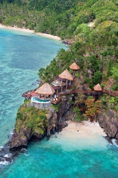 Laucala Island Resort in Fiji.