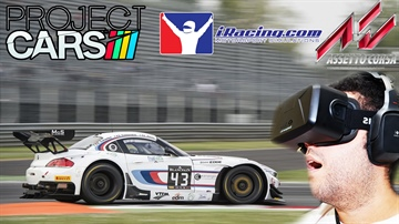 Oculus Rift DK2 REVIEW 2 - Project CARS vs Assetto Corsa vs Iracing