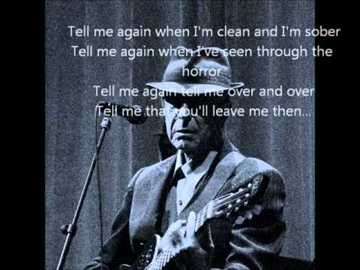 Leonard Cohen - Amen & Lyrics