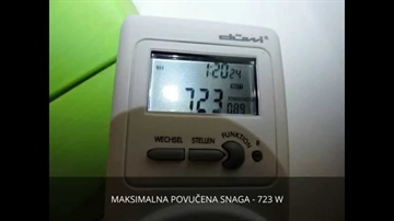 KLIMA INVERTER VS FIX SPEED KLIMA UREĐAJ TEST